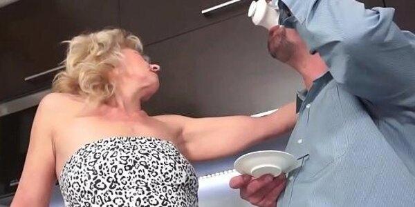 grandmother cum soaked