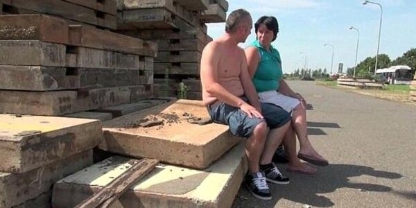 mature moms getting romping outdoors