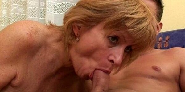 granny claims a daily cum load will slow her ageing process