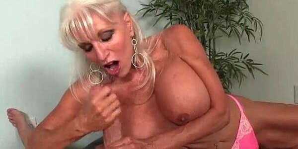 over granny loves jerking cocks
