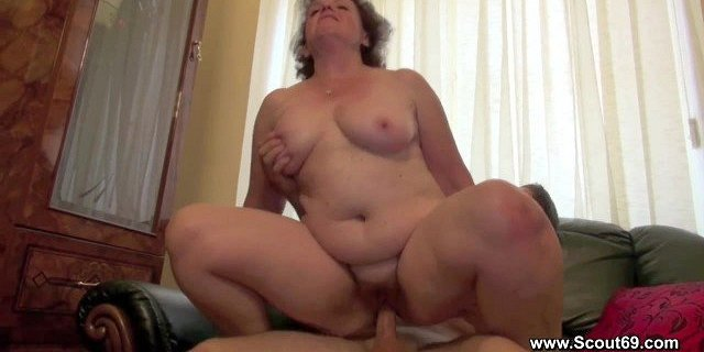 hairy mom fucks with step son without a condom