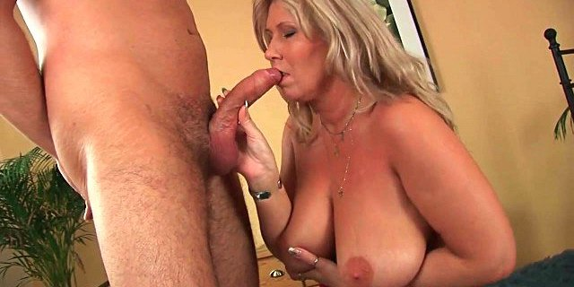 can i cum on your big tits mommy