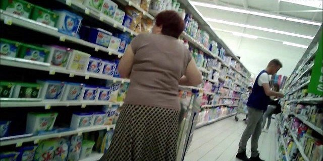 granny with big curves