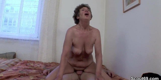 hairy old mother get anal fucked by not her german step son