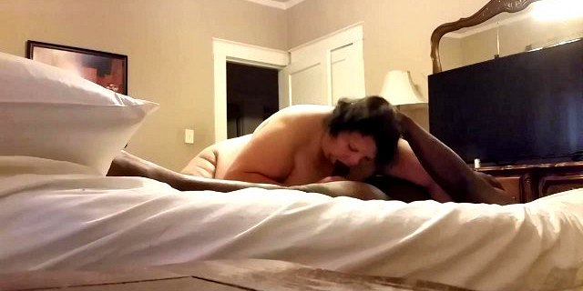 granny sucking bbc and swallow