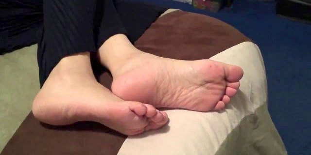 in law asian granny soles candid