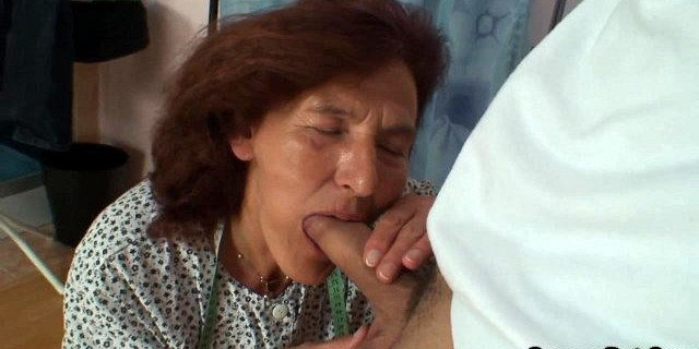 sewing old women swallows customer