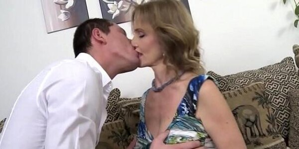 granny is fucked by young guy