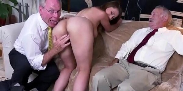 old british granny ivy impresses with her meaty funbags and ass