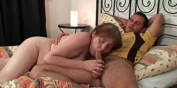 he heals granny with the power of his cock