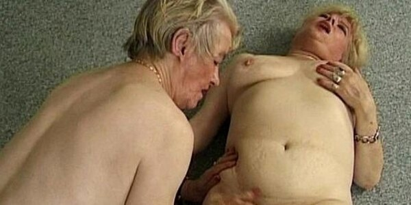 two fat lesbian grannies licking their old hairy cooches long and wet